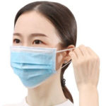 3 Layers Respirator Masks Filter Virus PM2.5 Disposable Nose Mouth Mask