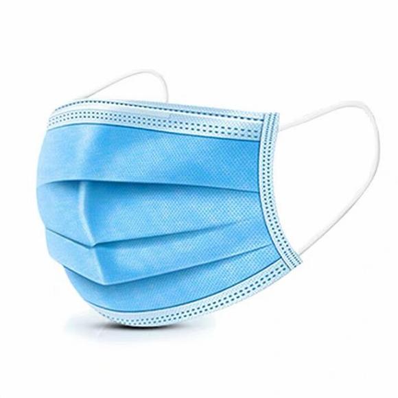 3 Layers Respirator Masks Filter Virus PM2.5 Disposable Nose Mouth Mask