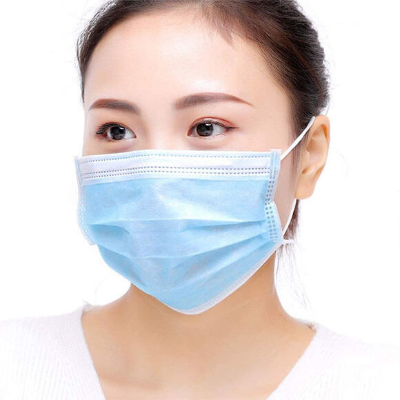 Custom 3Ply Earloop FDA Disposable Antivirus Medical Surgical Face Mask