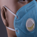 Dust Disposable Non-Woven Face Mask With Valve Folding N95 Mouth Mask